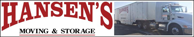Hansens Moving & Storage Logo