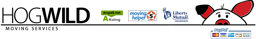 HogWild Moving Services Logo