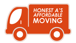 Honest A's Affordable Moving Logo