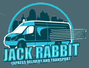 Jack Rabbit Express Delivery and Transportation Logo