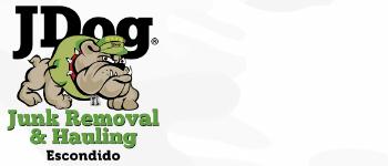 JDog Junk Removal & Hauling Escondido Logo