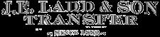 J.E. Ladd & Son Transfer Logo
