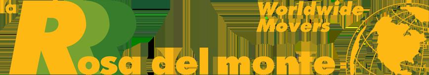 La Rosa Del Monte Worldwide Movers Logo