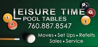 Leisure Time Pool Tables Logo