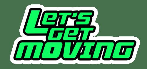 Let's Get Moving Logo