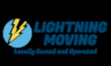 LIGHTNING Moving & Cleaning Logo