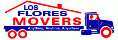 Los Flores Movers Logo