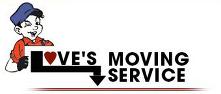 Love's Moving Service Logo