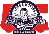 Lukes Moving Services Logo