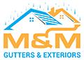 M&M Gutters & Exteriors Logo