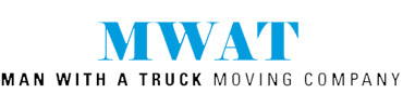 Man With a Truck Moving Company Logo