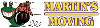 Martins Moving family owned since 2002 Logo