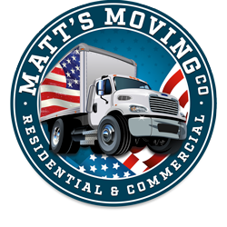 Matt's Moving LLC. Minneapolis MN Logo