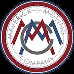 Maverick Moving Company Logo