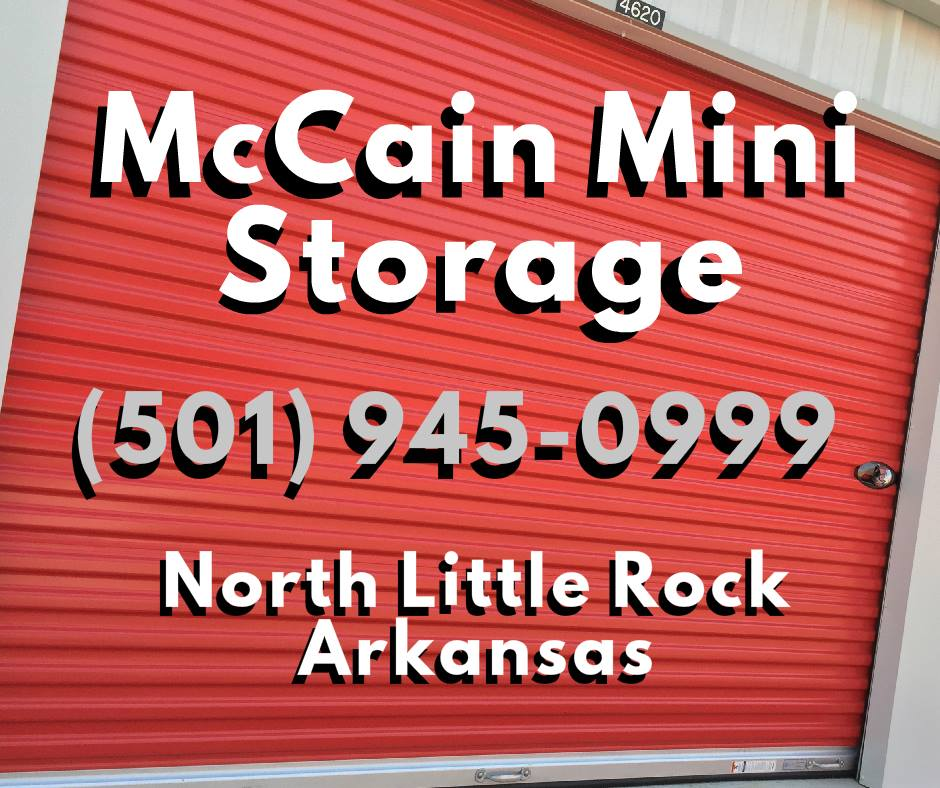 McCain Mini Storage Logo