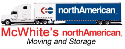 McWhite's North American Moving and Storage Logo