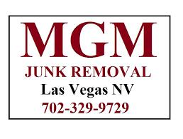 MGM Junk Removal Las Vegas Logo