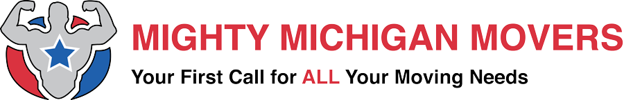 Mighty Michigan Movers Logo