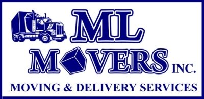 ML Movers Labor, Moving & Delivery Services Logo