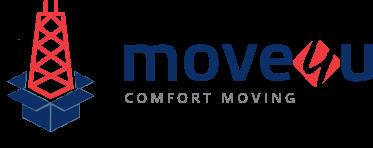 Move4U Movers, Moving Company Logo