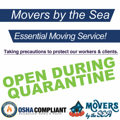 Movers By The Sea Logo