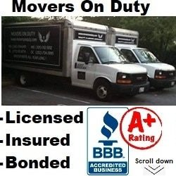 Movers On Duty  Logo