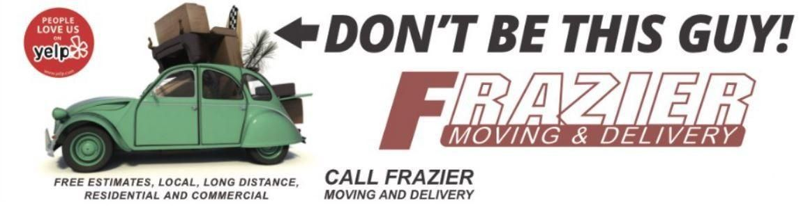 Frazier Moving And Delivery Logo