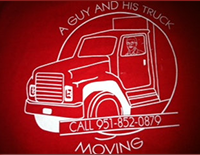 A Guy And His Truck Moving , Inc Logo