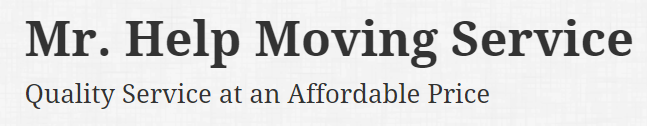 Mr. Help Moving Service Logo