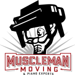 Muscle Man Moving & Piano Experts Logo