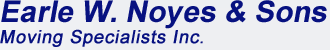 Earle W Noyes & Sons Moving Specialists Logo