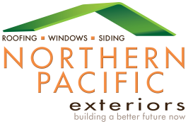 Northern Pacific Exteriors Roofing & Siding Logo