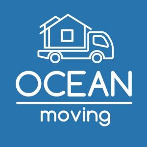 Ocean Moving Company Logo