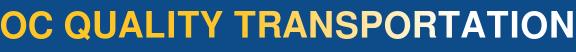 OC Quality Transportation  Logo