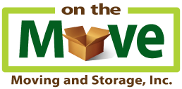 On the Move: Moving and Storage Logo