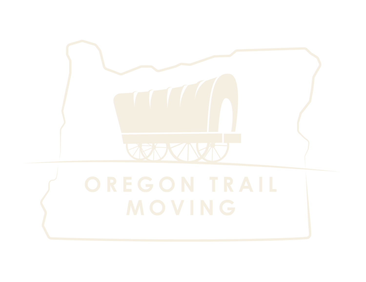 Oregon Trail Moving Logo