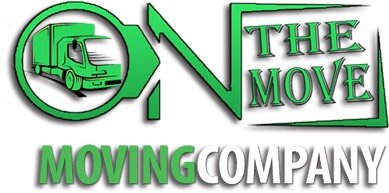 On The Move Moving Company Logo