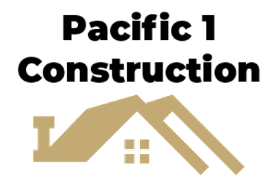 Pacific1 Construction Logo