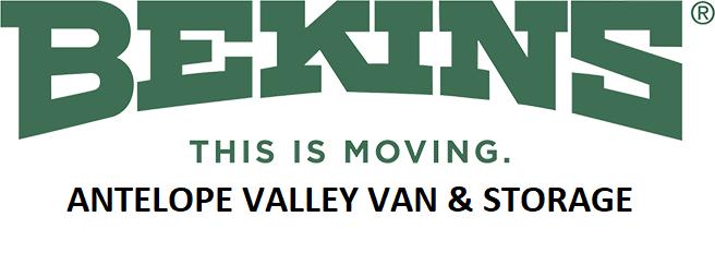 Antelope Valley Van and Storage Logo