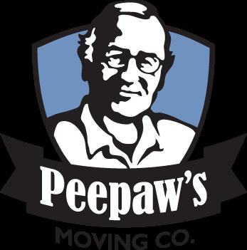 Peepaw's Moving Logo