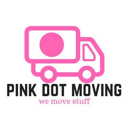 Pink Dot Moving Logo