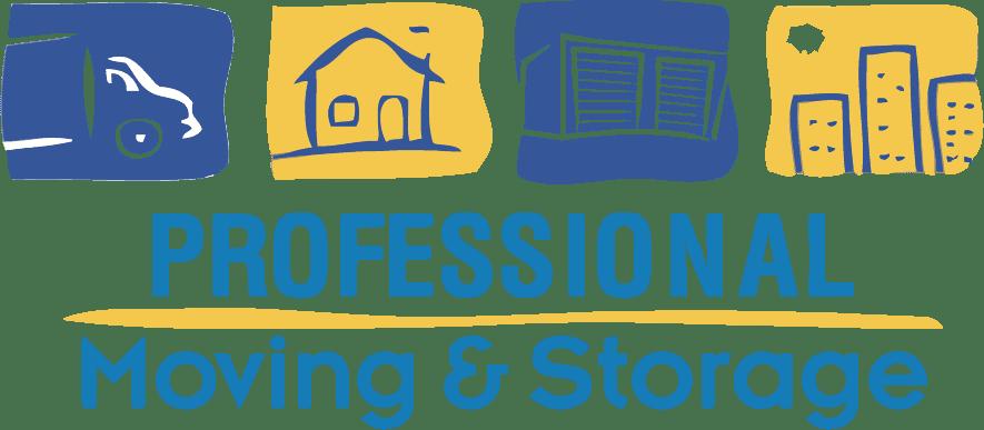 Professional Moving & Storage Logo
