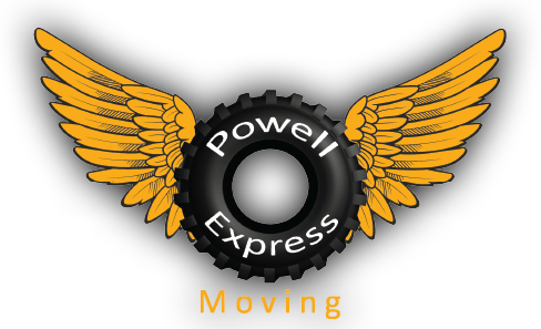 Powell Express Moving / Delivery Logo