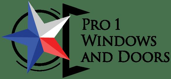 Pro 1 Windows and Doors Logo
