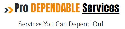 Pro Dependable Services Logo