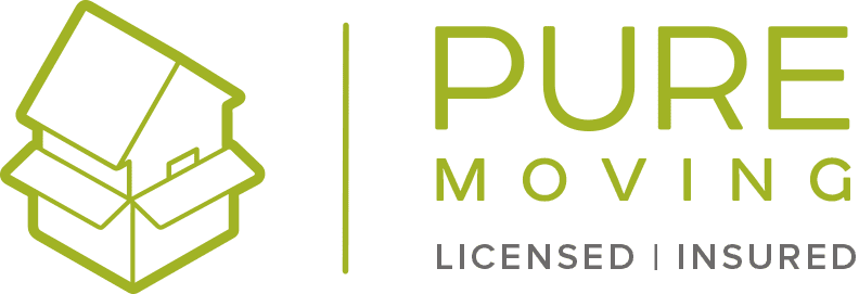 Pure Moving Company Logo
