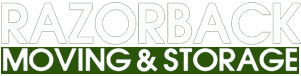 Razorback Moving LLC Springdale Logo