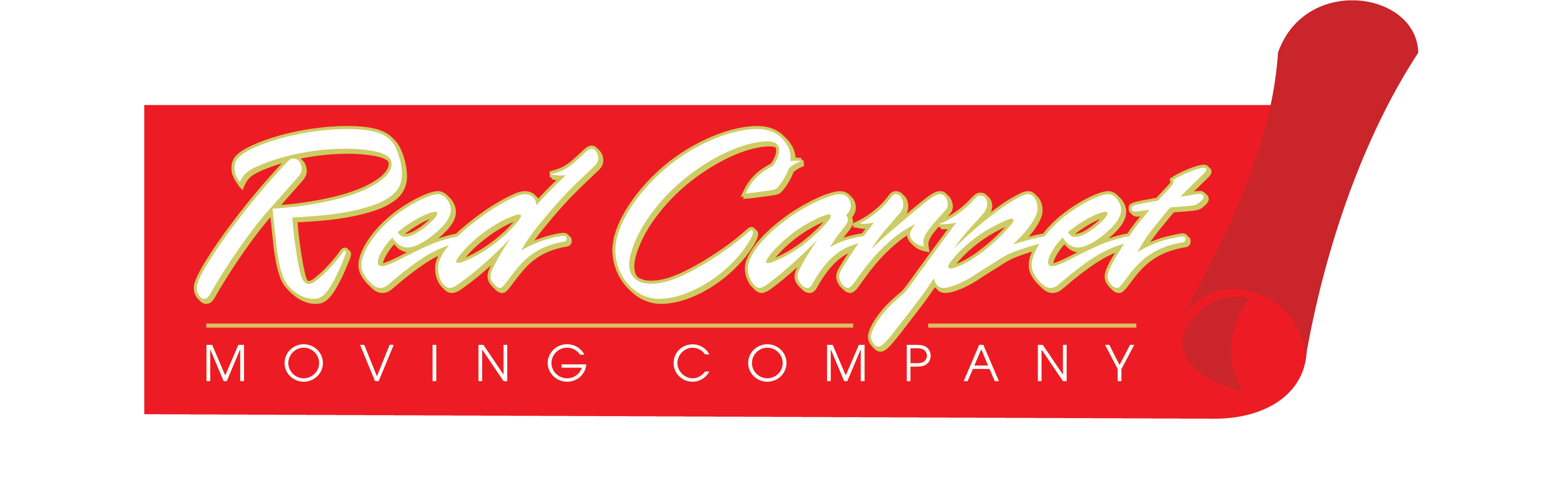 Red Carpet Moving Company Logo