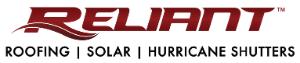 Reliant Roofing, Solar, & Hurricane Shutters Logo