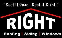 Right Roofing & Siding Logo